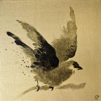 Авторская картина ХO-Gallery Птица 47 / АГ–2020–007 (А. Галенко) -