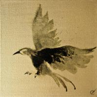 Авторская картина ХO-Gallery Птица 49 / АГ–2020–008 (А. Галенко) -