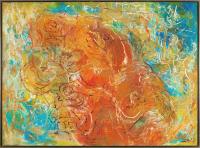 Авторская картина ХO-Gallery Жизнеутверждающая радость Житковичской улицы.Осень / НЧ–2020–001 (Н. Черноголова) -