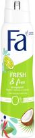 Дезодорант-спрей Fa Аромат лайма и кокоса Fresh&Free (150мл) -