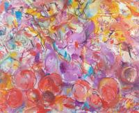 Авторская картина ХO-Gallery Пишу натюрморт, летая / НЧ–2020–008 (Н. Черноголова) -