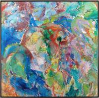 Авторская картина ХO-Gallery Я счастлива с тобой как никогда / НЧ–2020–009 (Н. Черноголова) -