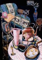 Авторская картина ХO-Gallery Натюрморт в интерьере / ИТ–2020–002 (И. Тарасова) -
