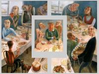 Авторская картина ХO-Gallery Пасха / ИТ–2020–005 (И. Тарасова) -