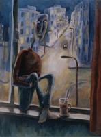Авторская картина ХO-Gallery Ночь / ИТ–2020–006 (И. Тарасова) -