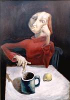 Авторская картина ХO-Gallery Размышление / ИТ–2020–007 (И. Тарасова) -