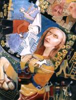 Авторская картина ХO-Gallery Дорога белой лошадки / ИТ–2020–008 (И. Тарасова) -