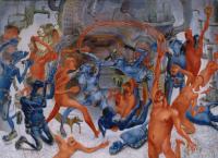 Авторская картина ХO-Gallery Выход / ИТ–2020–009 (И. Тарасова) -