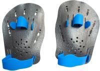 Лопатки для плавания Sabriasport DP-03 (серый) -