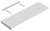 Полка Domax FS 80/24 BI / 65110 (795x235, белый) -