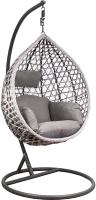 Кресло подвесное Седия Hawaii (серый/серо-бежевый) -