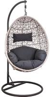 Кресло подвесное Седия Bounty (серо-бежевый/графит) -