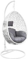 Кресло подвесное Седия Bounty (белый/серый) -
