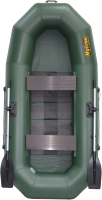 Гребная лодка Муссон Н-270 PC (зеленый) -