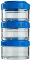 Набор контейнеров Blender Bottle GoStak Tritan / BB-GS60-BLUE (синий) -