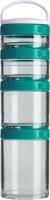 Набор ланч-боксов Blender Bottle GoStak Tritan Starter / BB-GSTP-TEAL (морской голубой) -