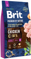 Корм для собак Brit Premium by Nature Adult S / 526291 (3кг) -