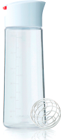 Шейкер для теста Blender Bottle Whiskware / BB-DRST-WHRE (белый/красный) -