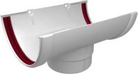 Воронка водостока Grand Line Стандарт ПВХ (белый) -