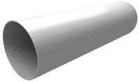 Труба водостока Grand Line Стандарт ПВХ (3м, белый) -