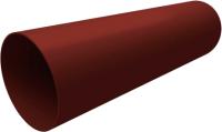 Труба водостока Grand Line Стандарт ПВХ (3м, шоколадный) -
