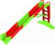 Горка Doloni Мега 01450/3 (салатовый/красный) -