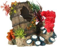 Декорация для аквариума Aqua Della Бочка Sunken Artefact 2 / 234/448939 -