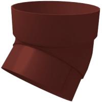 Колено для водостока Grand Line Стандарт ПВХ 45 градусов (шоколад) -