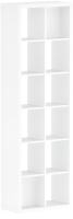 Стеллаж Eligard EL3 / СП03 (белый мат) -