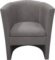 Кресло мягкое Lama мебель Рико (Bahama Steel) -
