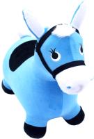 Игрушка-прыгун Симбат Лошадка / RJ-010-015-BLUE (голубой) -