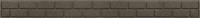 Бордюр садовый Orlix Bricks EU5000059 (коричневый) -