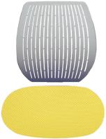 Чехол на стул Comf-Pro Speed Ultra (желтый стрейч) -