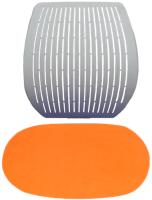 Чехол на стул Comf-Pro Speed Ultra (оранжевый велюр) -