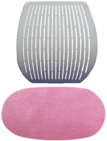Чехол на стул Comf-Pro Speed Ultra (розовый велюр) -