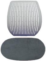 Чехол на стул Comf-Pro Speed Ultra (серый велюр) -