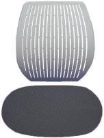 Чехол на стул Comf-Pro Speed Ultra (серый стрейч) -