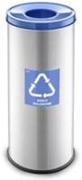 Контейнер для мусора Alda Eco Prestige 9028154 (голубой глянцевый) -