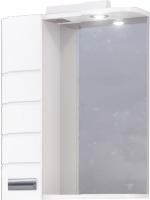 Шкаф с зеркалом для ванной Raval Kub 50 / Kub.03.50/W -