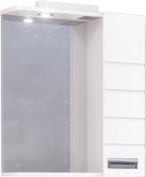 Шкаф с зеркалом для ванной Raval Kub 60 / Kub.03.60/W -