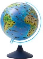 Глобус Globen Зоогеографический на круглой подставке / 12500269 -