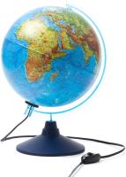 Глобус интерактивный Globen Физико-политический с подсветкой / 12500284 -