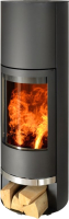 Печь-камин ABX Alkmaar I (черный) -