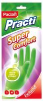 Перчатки хозяйственные Paclan Practi Super Comfort (L) -