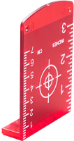 Мишень для лазерного луча Fubag Target R / 31645 (красный) -