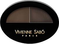 Тени для бровей Vivienne Sabo Brow Arcade тон 02 -