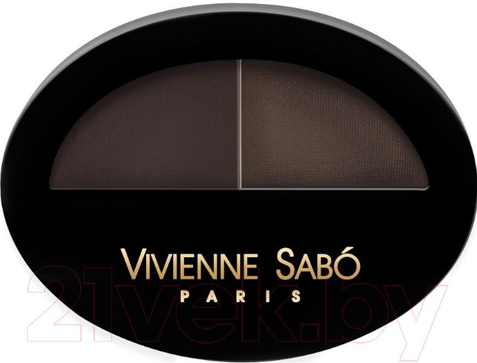 Купить Тени для бровей Vivienne Sabo, Brow Arcade тон 03, Франция, брюнет/шатен (коричневый)