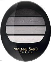 Палетка теней для век Vivienne Sabo Quatre Nuances тон 71 -