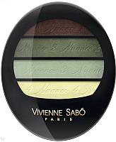 Палетка теней для век Vivienne Sabo Quatre Nuances тон 72 -