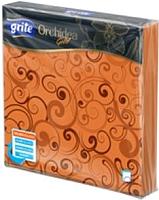 Бумажные салфетки Grite Orchidea Flamy (33x33) -